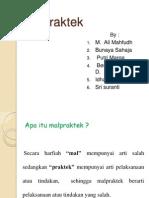 Malpraktek Ppt Editing
