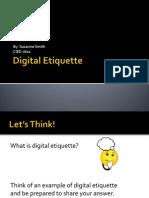 cied 7601 digital etiquette