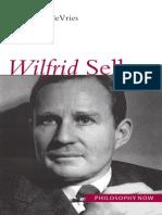 Willem DeVries Wilfrid Sellars (Philosophy Now) 2005