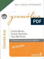 Gramatica A1-A2 Nivel Elemental (Español Lengua Extranjera) - AnayaELE