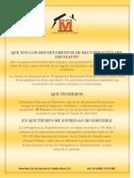 Que Son Los Deptos. de Recuperacion Del Infonavit.septiembre.2012