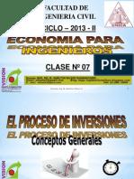 Clase 07 Economia Para Ing 2013 II
