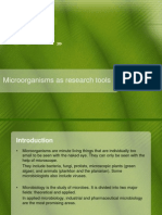 Microorganisms as Research Tools_Presentation
