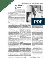 Fischer - W.Reich - Einführung 30 Seiten