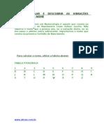 NUMEROLOGIA PITAGÓRICA2013
