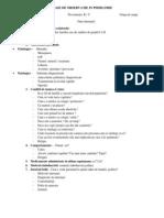 Foaie de Observatie in Psihiatrie (Model i)