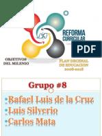 Exposicion Plan Decenal, Milenio y Reforma
