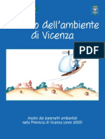 Lo stato dell'ambiente di Vicenza - anno 2000