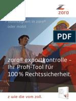 zara® exportkontrolle – Ihr Profi-Tool für 100 % Rechtssicherheit.