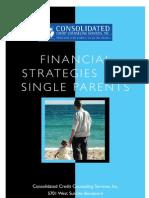 Money startegies for single parents