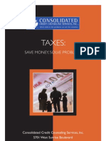 consolidated credit and your taxes