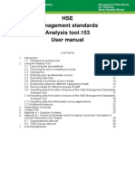 'Management Standards' and work-related stress analysistoolmanual