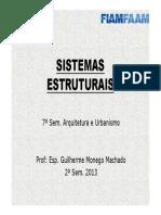 Sistemas Estruturais - Aula 1