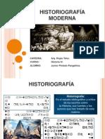 04 HISTORIOGRAFÍA MODERNA