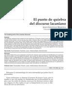 2011-12-02 El Punto de Quiebra Del Discurso Lacaniano