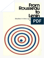 [Lucio Colletti, John Merrington, Judith_White. From Rousseau to Lenin