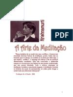 J.Krishnamurti - A Arte da Meditação
