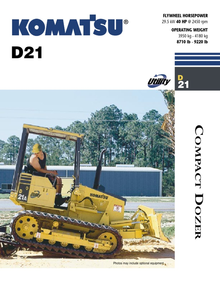D21P Brochure | Transmission (Mechanics) | Vehicles
