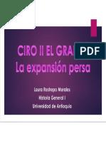Unidad 3 Ciro II El Grande - Laura Restrepo Morales