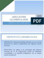 AFECCIONES GLOMERULARES