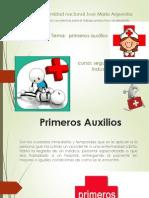 PRIMEROS AUXILIOS (1° GRUPO)