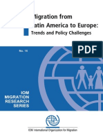Pellegrino Migration From LA to Europe Trends and Policies