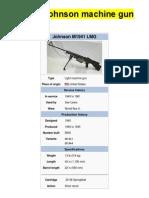 M1941 Johnson Machine Gun - From Wikipedia