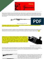 History of the Johnson Rifle