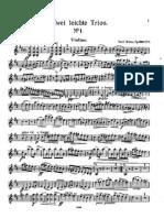 IMSLP59130-PMLP52063-Bohm - Easy Piano Trios Op330 No1 Violin