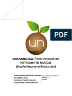 2. Industrializacion de Producto (Primera Entrega)