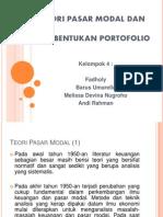 Kelompok 4 - Teori Pasmod Dan Pembentukan Portfolio
