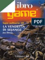 Lupo Solitario - 28 - La Vendetta Di Sejanoz