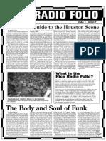 KTRU Fall Folio 2007