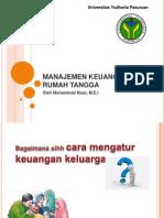 Manajemen Keuangan Rumah Tangga
