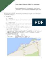 Informe de Trabajo de Campo Ciudad de Tumbes y Alrededores