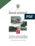 Guia Minero Ambiental de Explotaciones Mineras