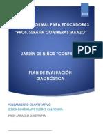 EVIDENCIA 3 Plan de evaluación diagnostica