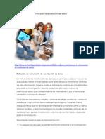 Tecnicas e Instrumentos Para La Recoleccion de Datos
