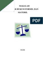 Drs.H. Sudirman Malaya, SH, MH (Hukum Formil Dan Materil)