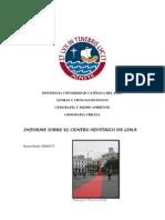 Informe sobre el Centro Histórico de Lima