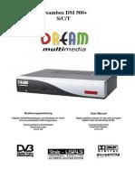 Manual de Instrucciones Dm500+