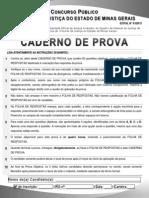 CadernodeProva Edital 01 2013 Primeira Instancia