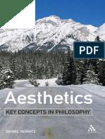 Aesthetics (Key Concepts in Philosophy) - Daniel Herwitz
