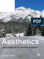 Aesthetics (Key Concepts in Philosophy) - Daniel Herwitz