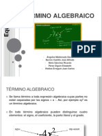 Termino algebraico