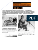 Browning Machine Guns - The Model 1895 Machine Gun