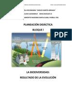 PLANEACIÓN BIOLOGÍA BLOQUE l