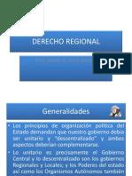 Derecho Regional 1