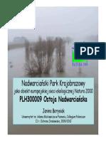 Biologiczne diagnozowanie ekosystemów (prof. Borysiak) - Nadwarciański park krajobrazowy