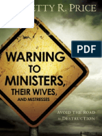 faithdome.org - Dr. Betty Price - Warning to Ministers, their wives, and mistresses